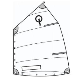 Optimist adaptable sails