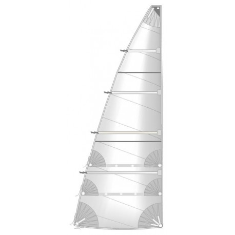 main sail  full batten