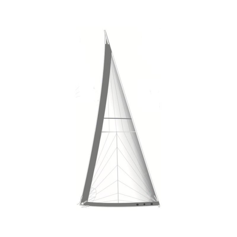 Tri Radial Cut Furling Genoa Custom Made Sails Sailmakers