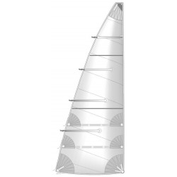 Semi Full Batten Mainsail
